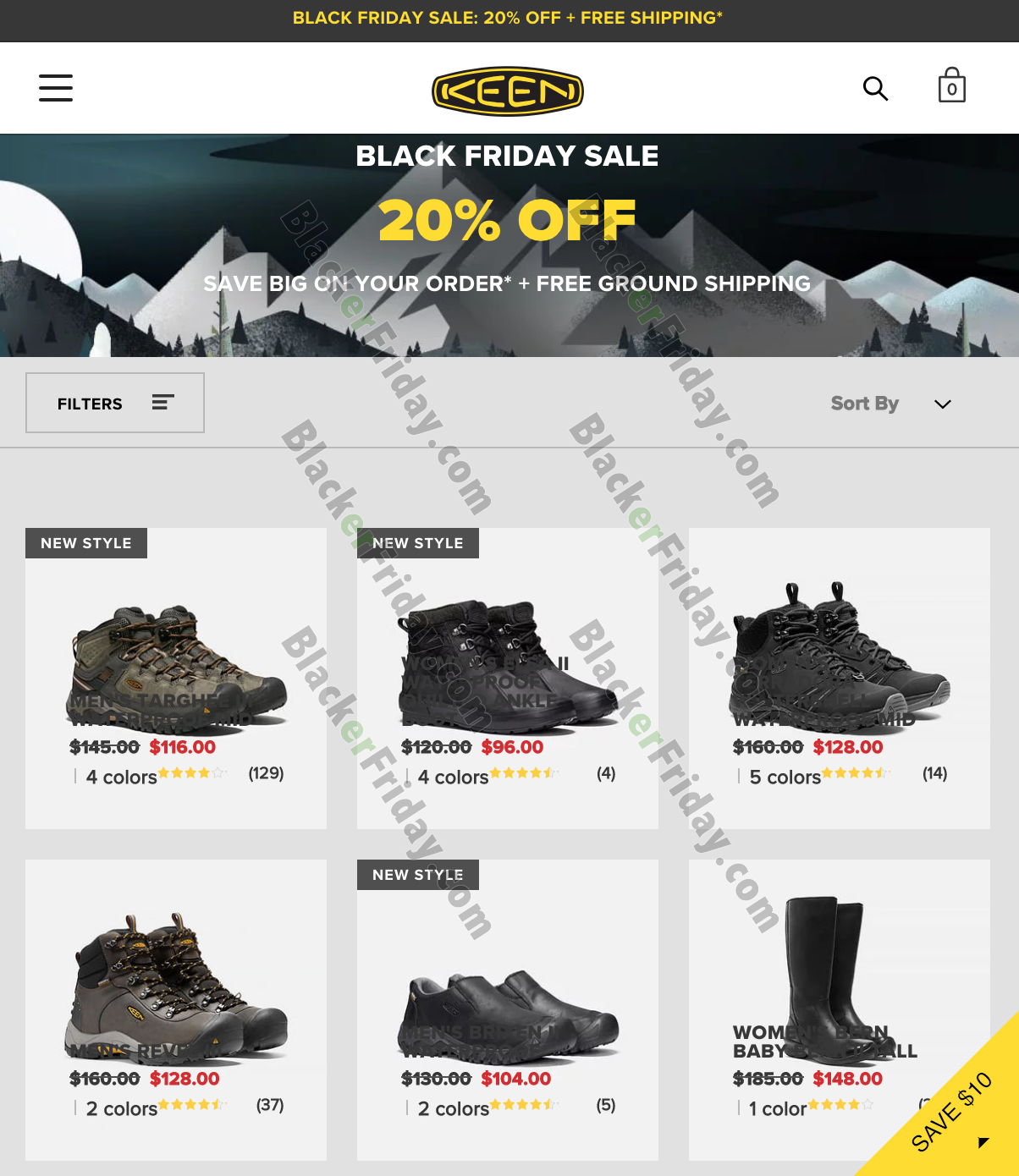 Keen Black Friday 2020 Sale - What to