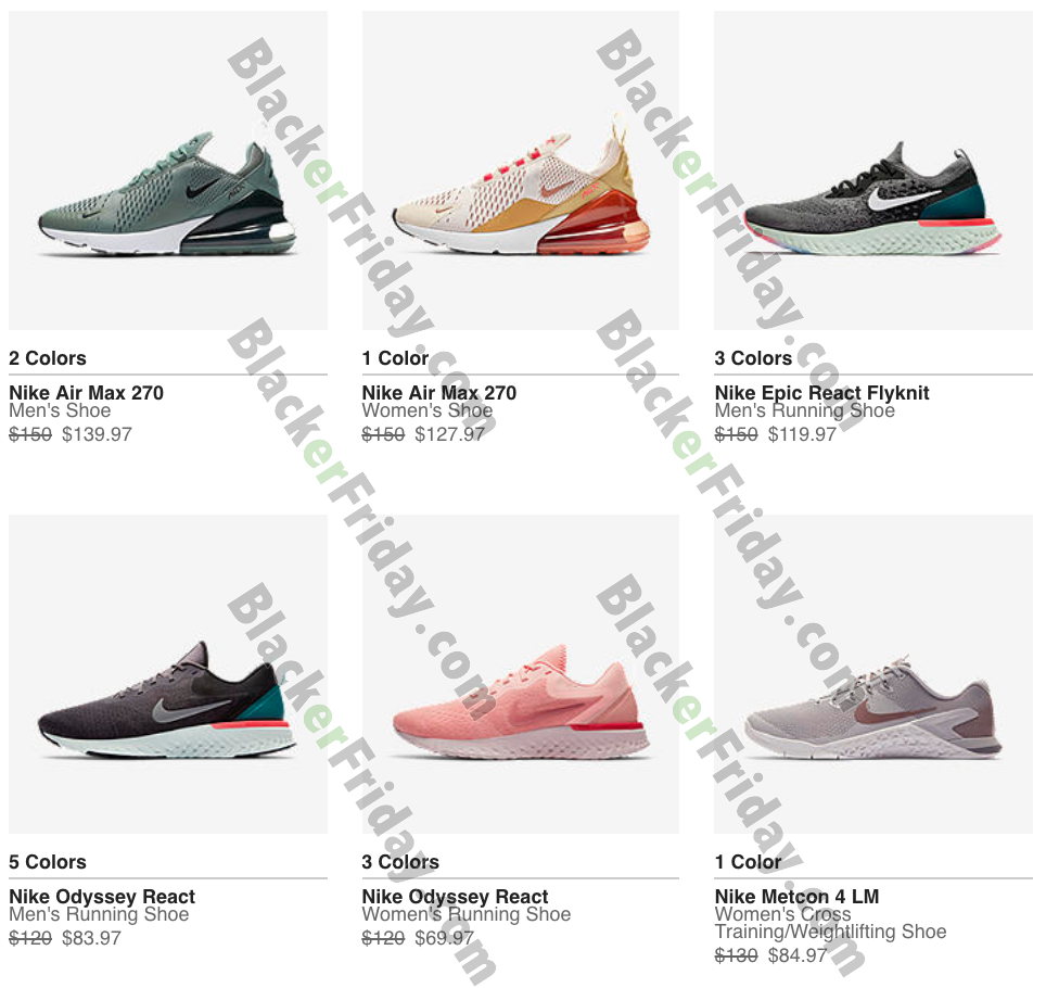 Nike Black Friday 2020 Sale - What to Expect - Blacker Friday