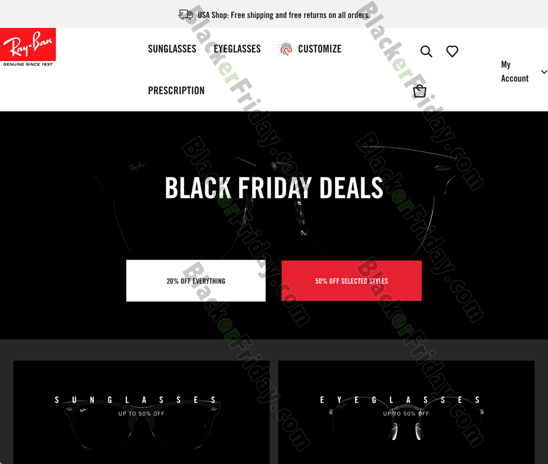 Ray Ban Black Friday 2020 Sale What To Expect Blacker Friday