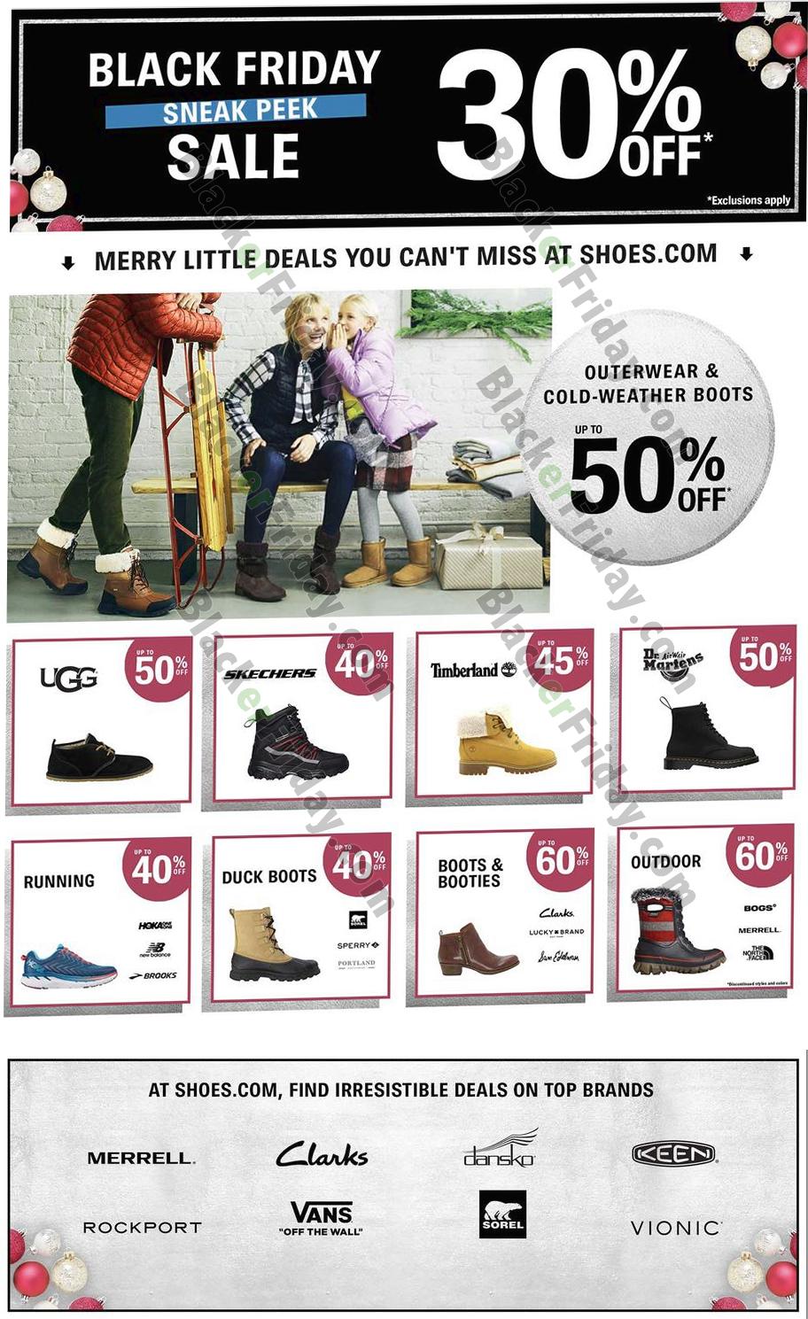 Shoes.com Black Friday 2020 Sale - What