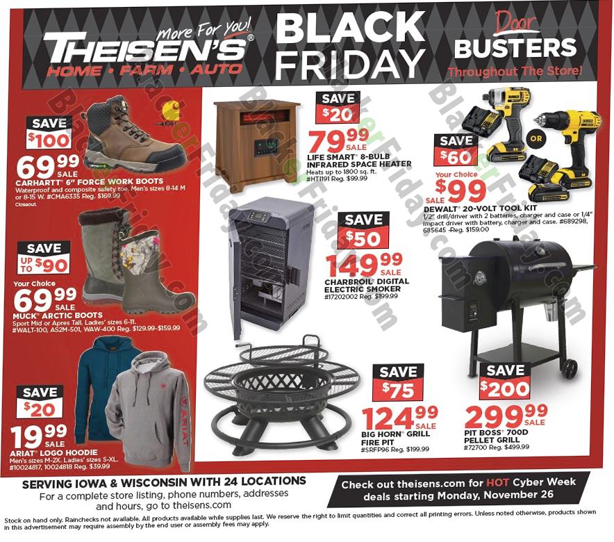 theisens black friday ad 2020