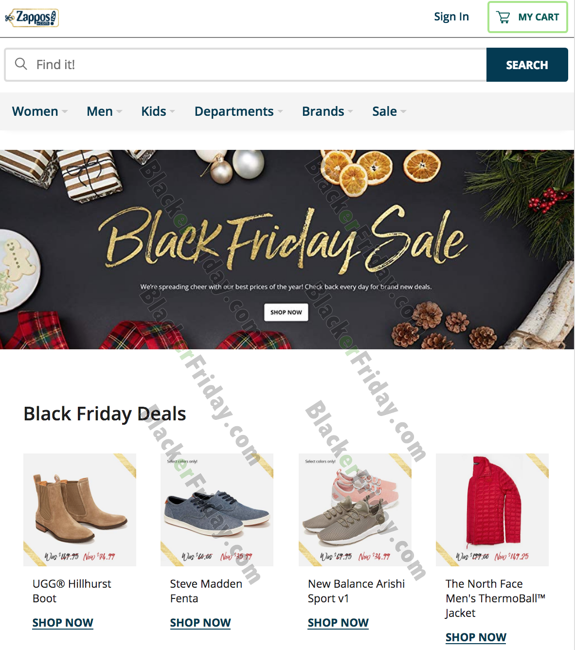 Zappos Black Friday 2020 Sale - What to Expect - Blacker ...