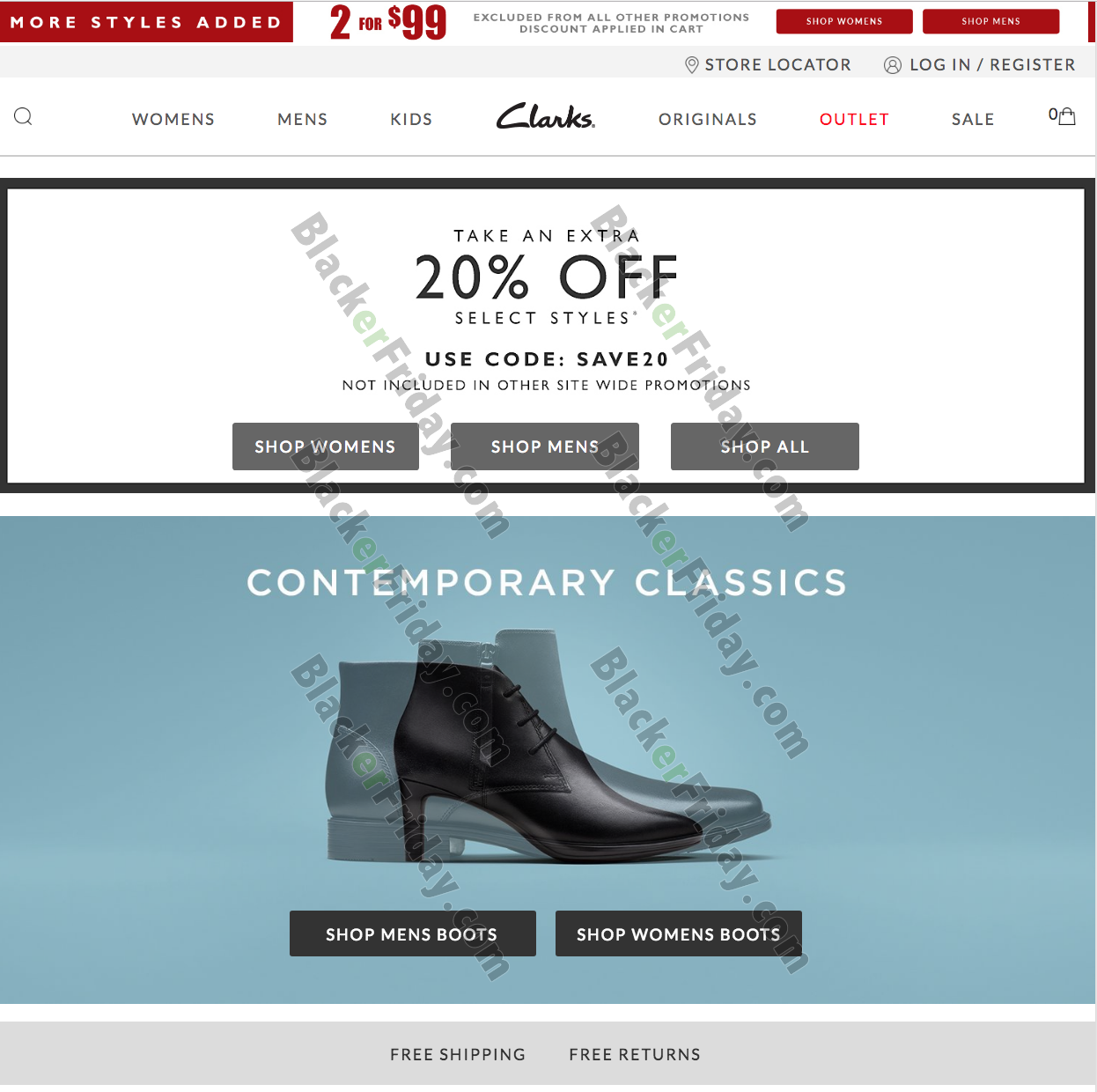 Clarks After Christmas Sale 2020 - What