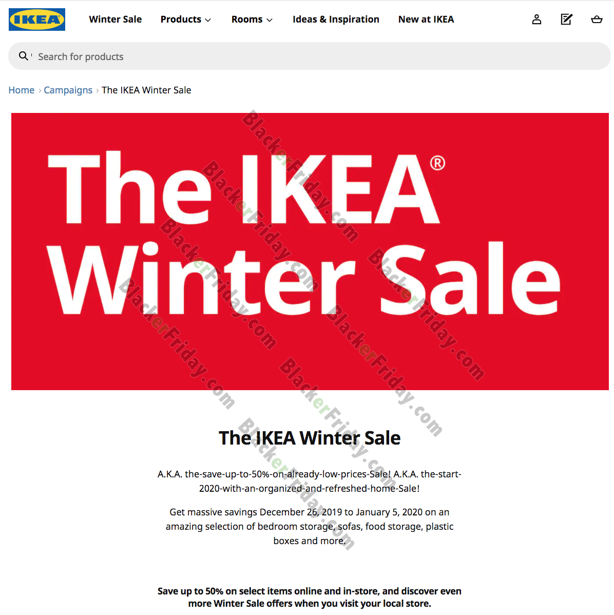 IKEA After Christmas Sale 2020   What to Expect   Blacker Friday