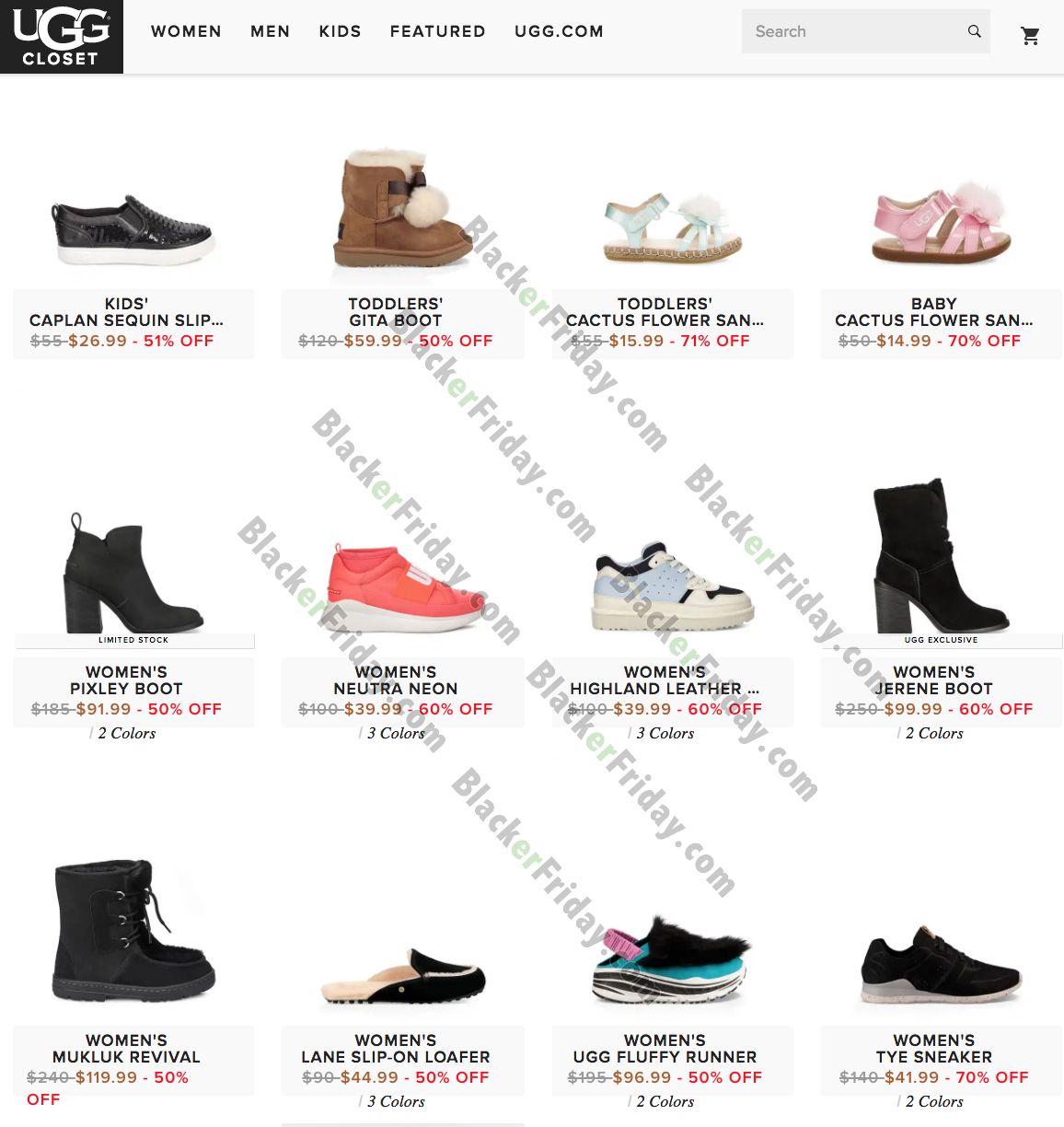 UGG After Christmas Sale 2020 - What to