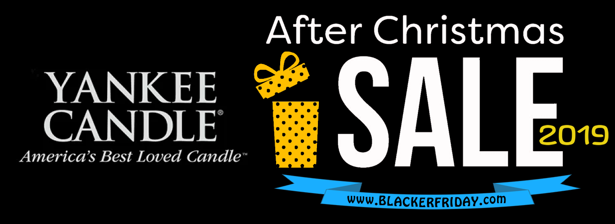 Yankee Candle After Christmas Sale 2019 - Blacker Friday