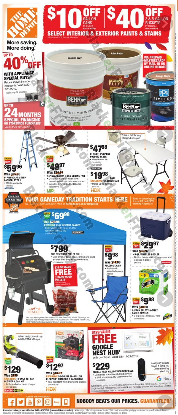 Home Depot Labor Day Sale 2020 What To Expect Blacker Friday