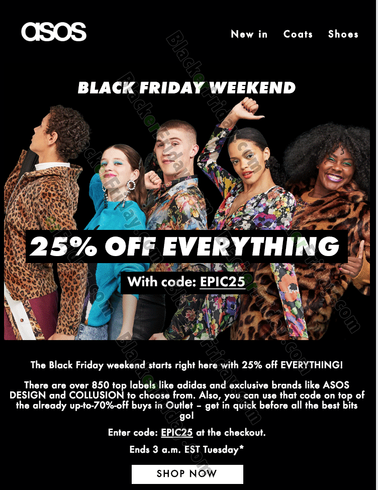 Asos Black Friday 2020 Sale What To Expect Blacker Friday