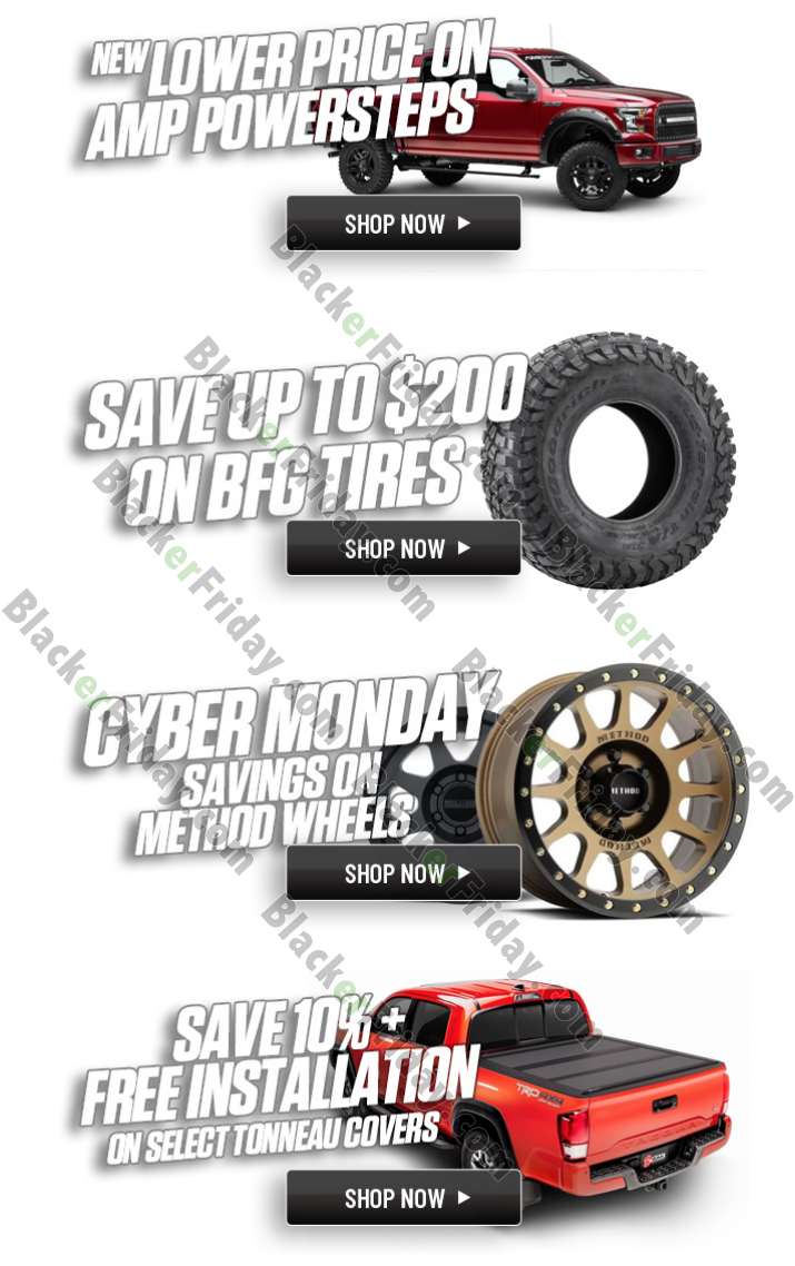4 Wheel Parts Cyber Monday Sale 2020 What To Expect Blacker Friday