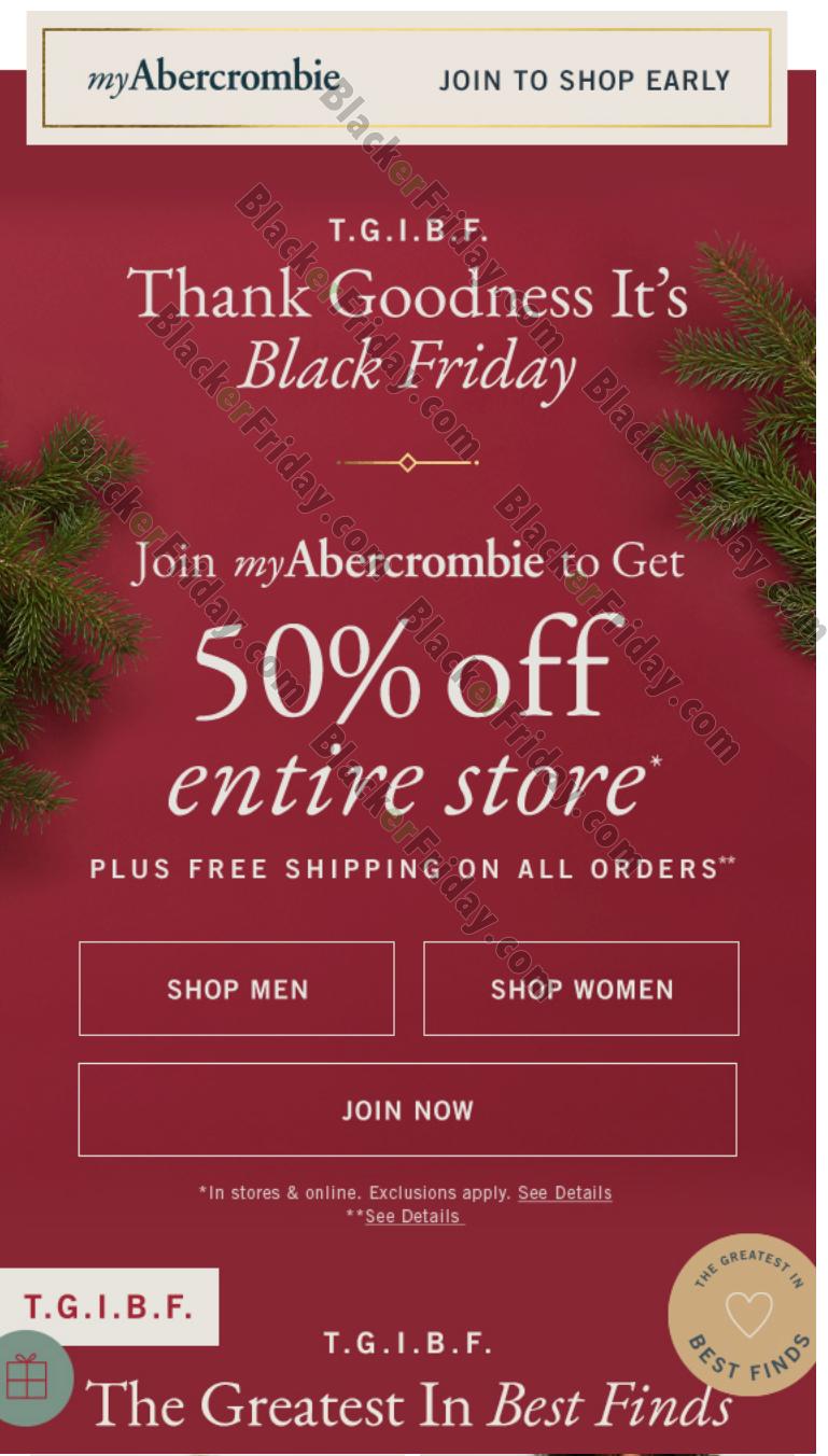 abercrombie black friday