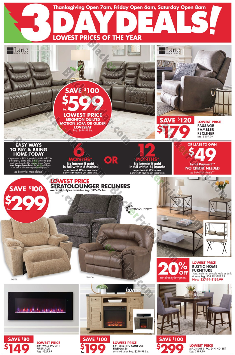 Big Lots Black Friday 11 Ad & Sale - What to Expect - Blacker Friday