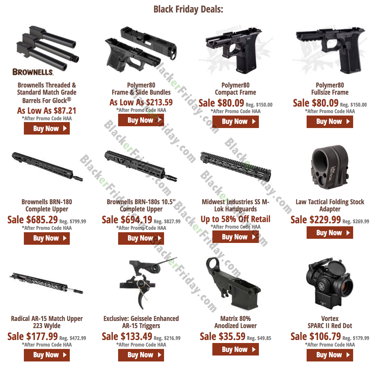 Brownells Black Friday 2020 Sale What To Expect Blacker Friday