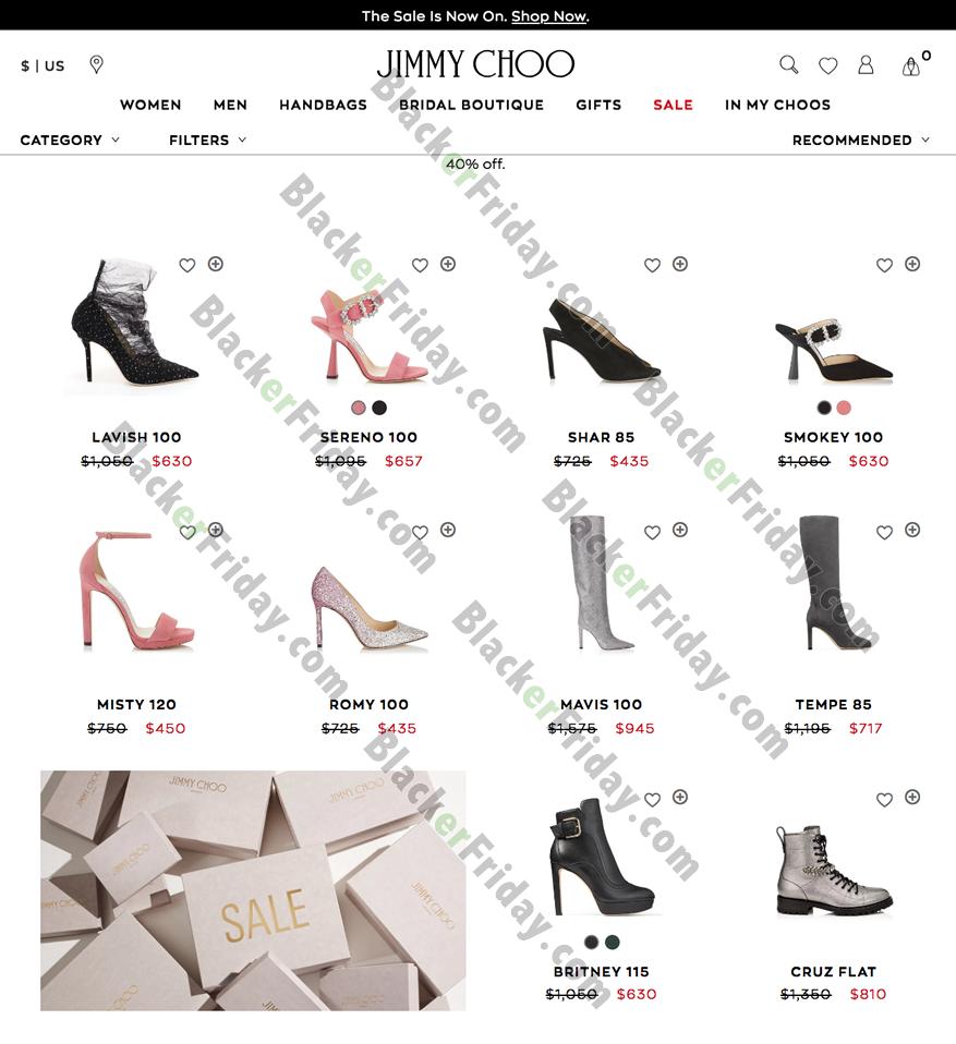 Jimmy Choo Black Friday 2021 Sale