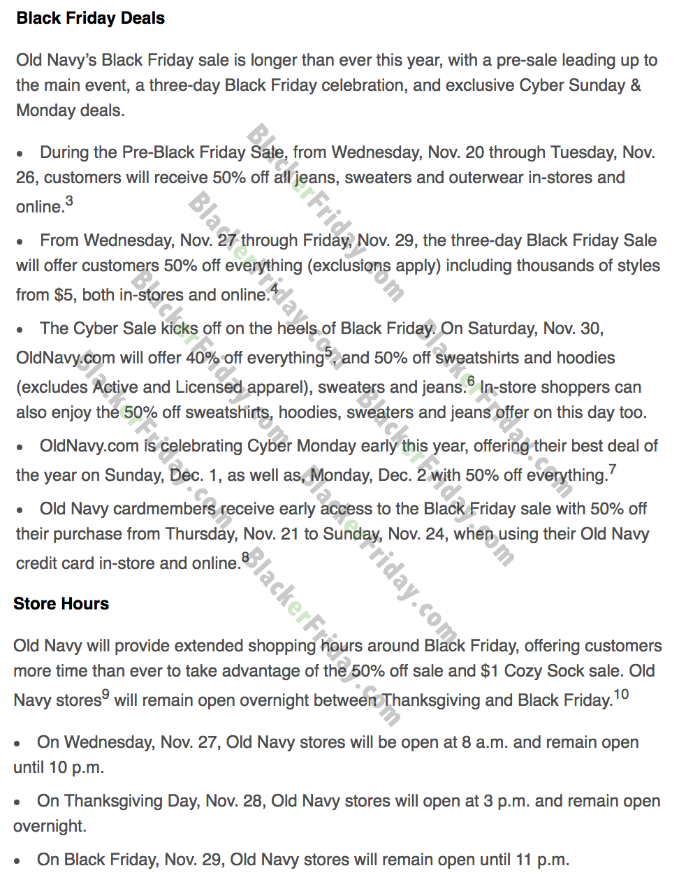 Old Navy Black Friday 2021 Sale What To Expect Blacker Friday