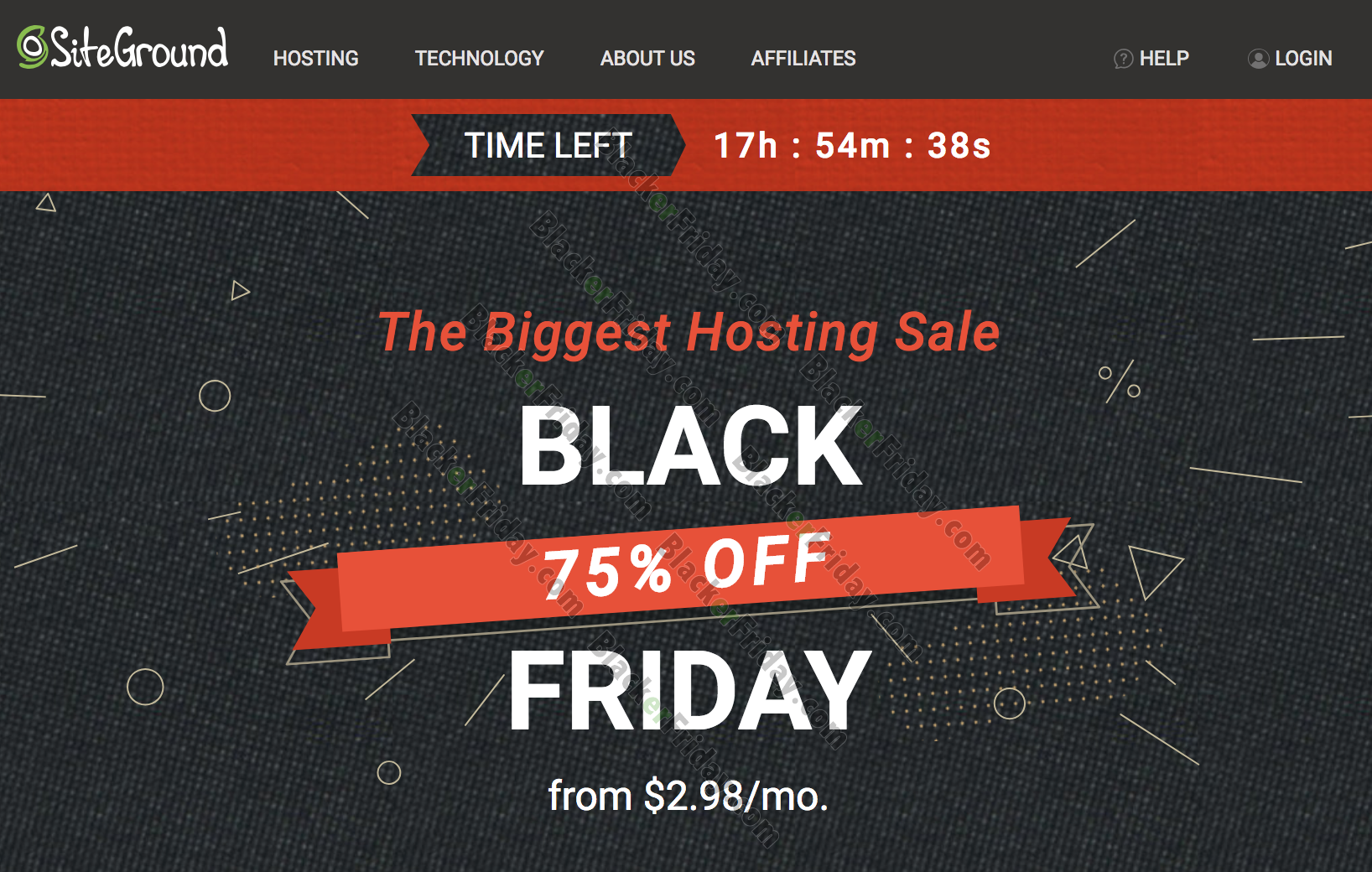 Siteground Black Friday 2020 Sale What To Expect Blacker Friday