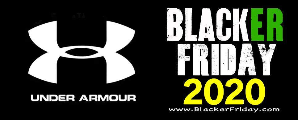 Under Armour Black Friday 2020 Sale