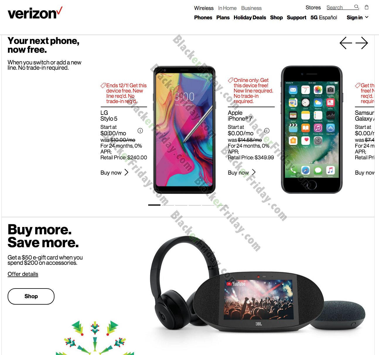 Verizon Wireless Black Friday 2020 Sale What To Expect Blacker Friday