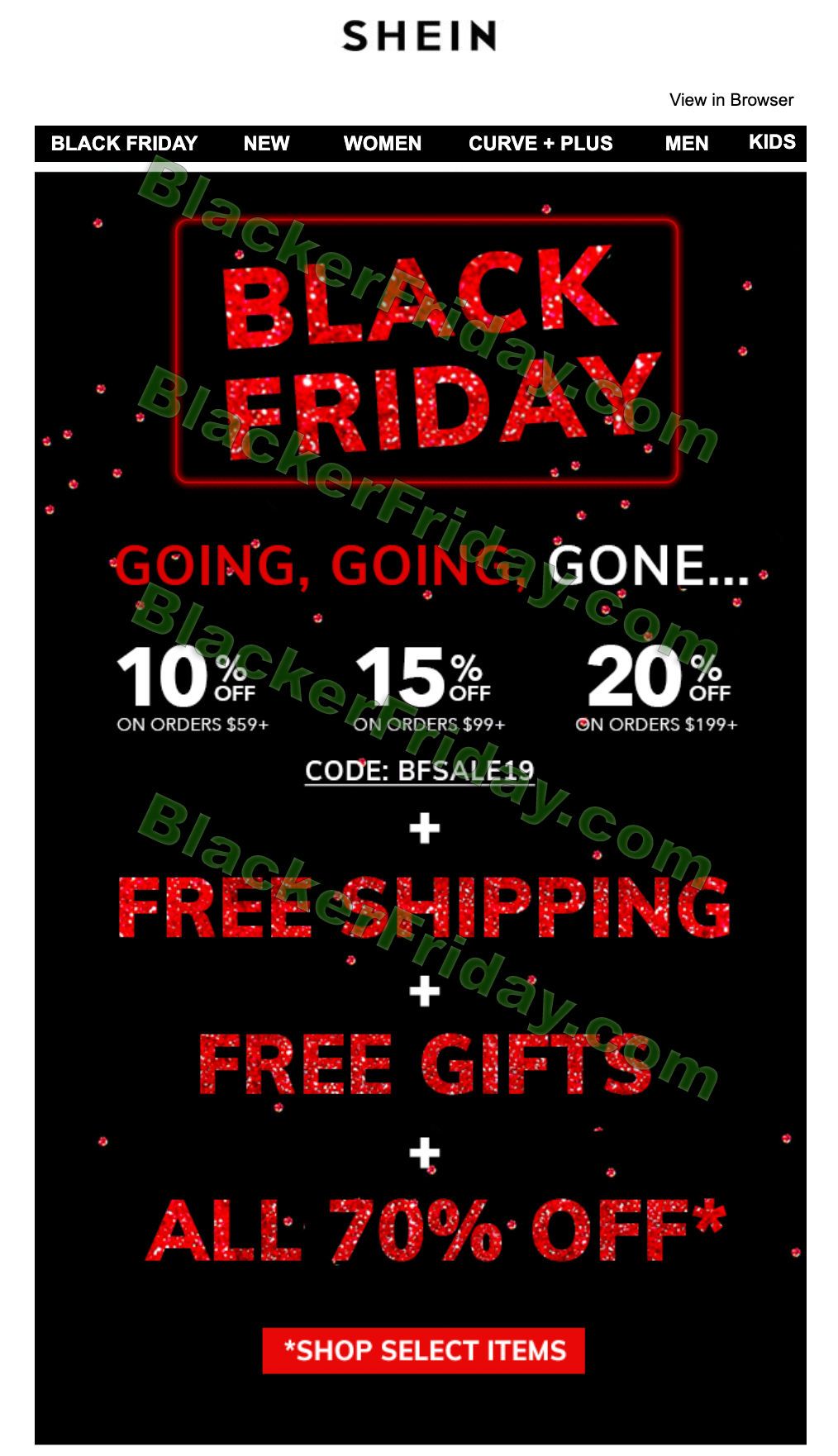 Shein Black Friday 2020 Sale What To Expect Blacker Friday