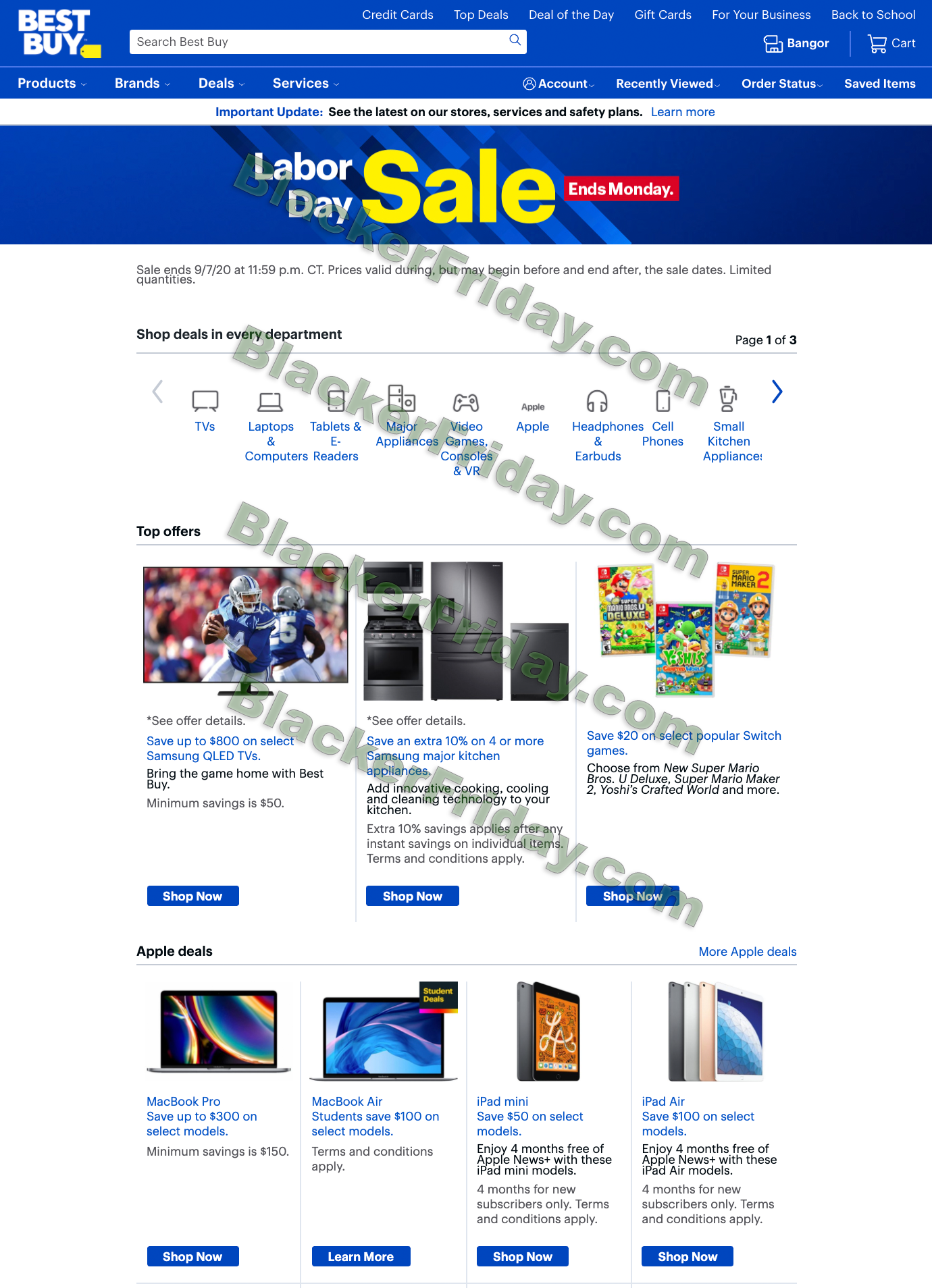 Best Buy Labor Day Sale 2020 Blacker Friday