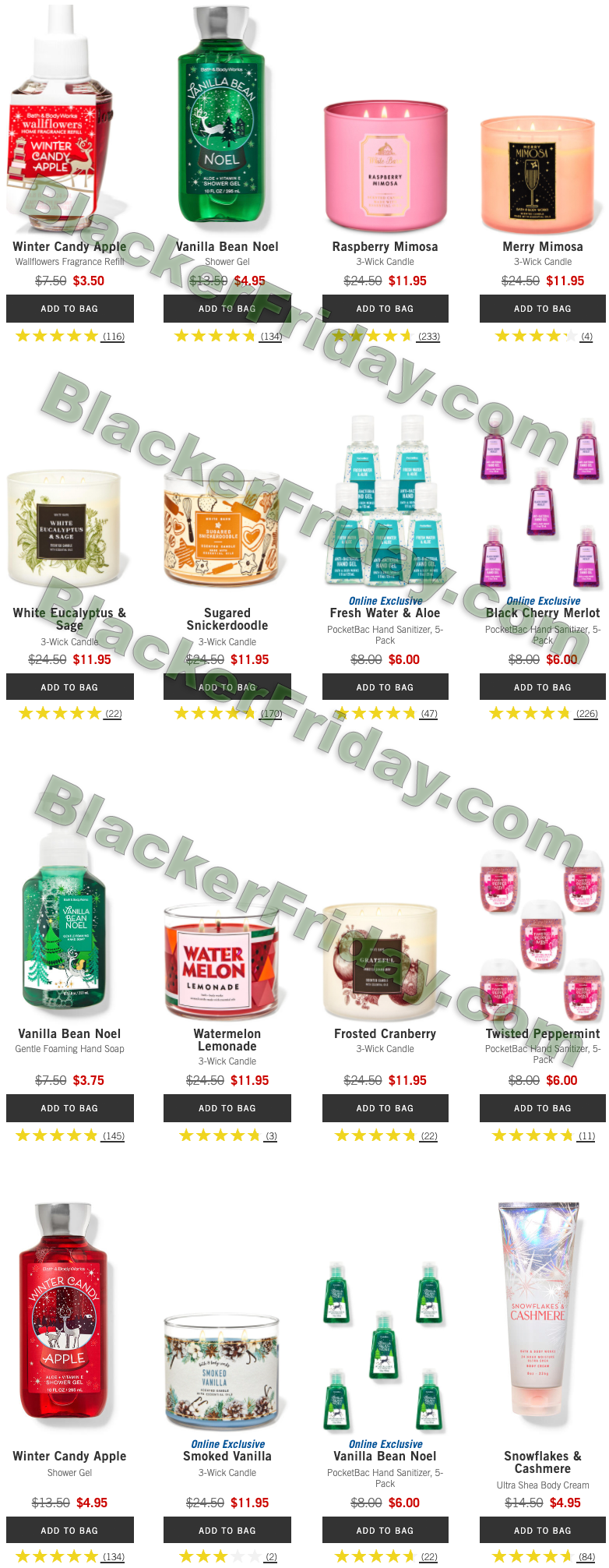 Bath And Body Works 2021 Christmas Mail Out Bath Body Works After Christmas Sale 2021 Blacker Friday